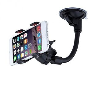 Eagwell Double Clip 360 Rotating Flexible Car Mount