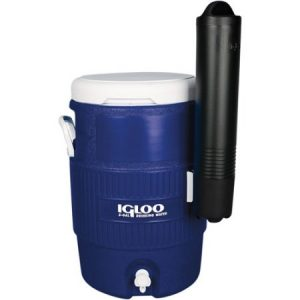 Igloo Seat Top Beverage Cooler with Cup Dispenser