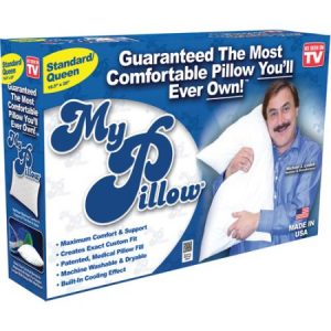 My Pillow Queen Size The Non-Allergenic Pillow with built-in Cooling effect