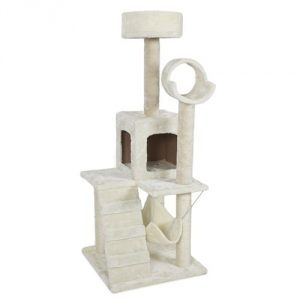 Best Choice Products Deluxe 52-Inch Cat Tree Tower Condo Scratcher Furniture Kitten House Hammock