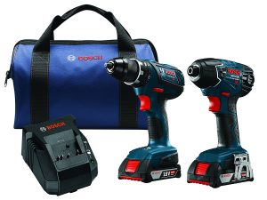 Bosch CLPK232A-181 18V Lithium-Ion Cordless Drill Driver-Impact Combo Kit