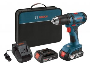Bosch DDB181-02 18-Volt Lithium-Ion 1/2-Inch Compact Tough Drill/Driver Kit