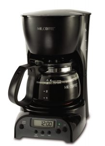 Mr. Coffee 4-Cup Programmable Brewer