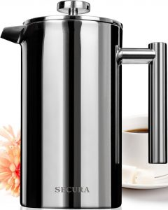 Secura Stainless SteFrench Press Coffee Maker